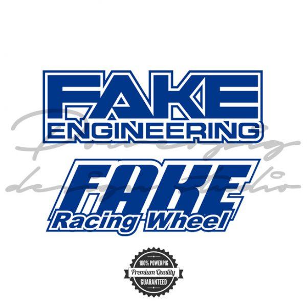 Fake racing wheel