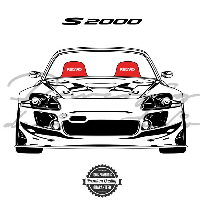 S2000 Spoon Sports Honda Vector Design
