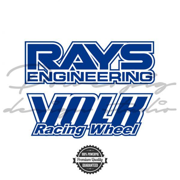 Rays Volk racing wheel